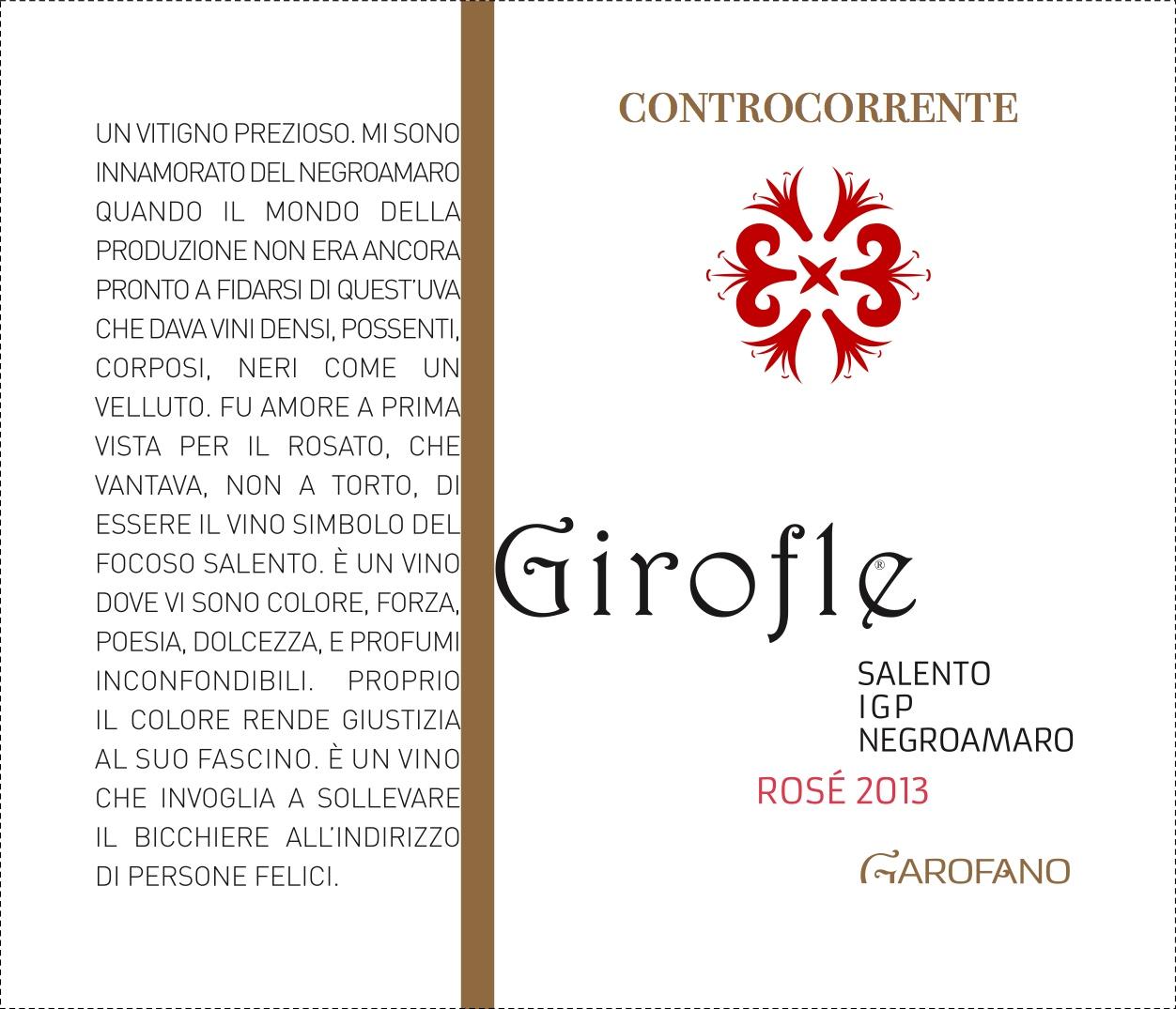 Girofle Controcorrente Vini Garofano