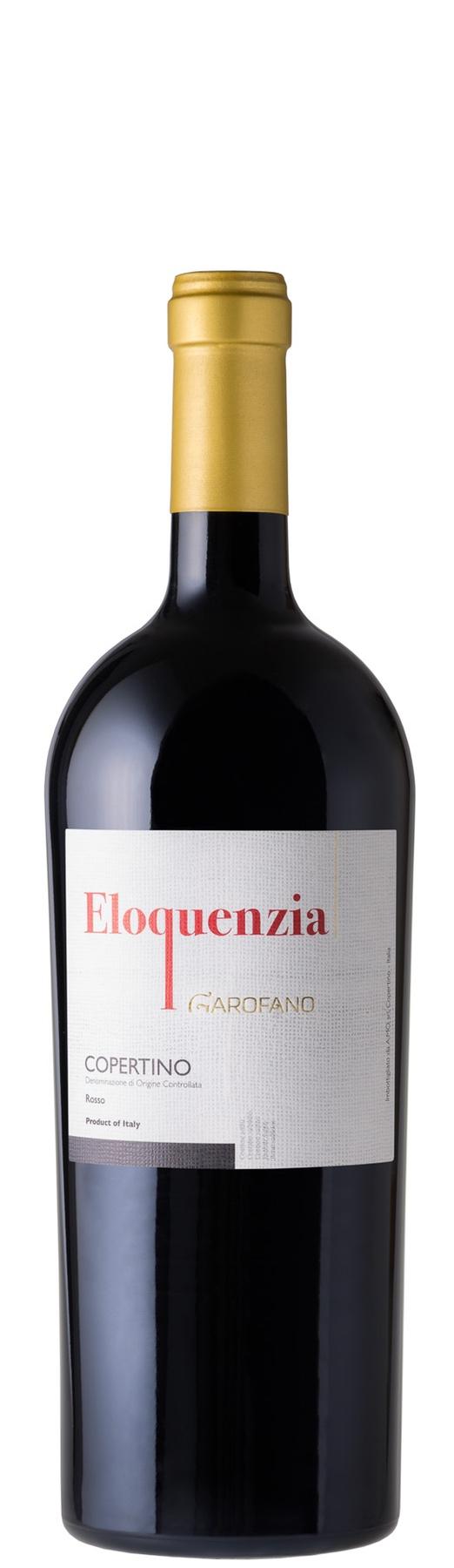 Bottiglia vino Eloquenzia Negroamaro Magnum