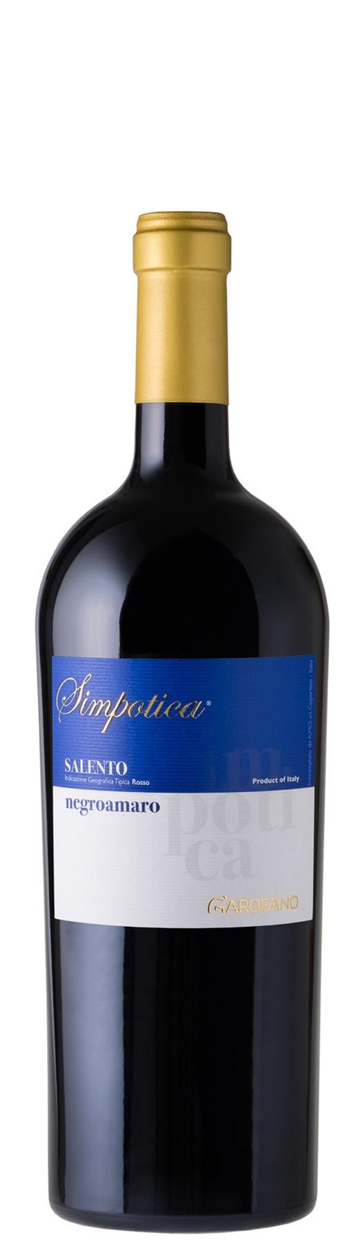 Bottiglia vino Magnum Simpotica