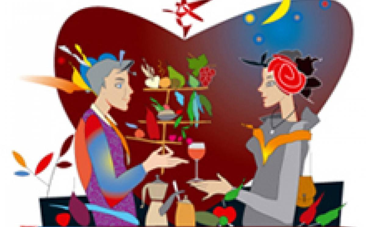 cena romantica del QuoquoMuseodelGusto